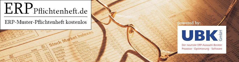 ERP Pflichtenheft – ERP-Pflichtenheft kostenlos